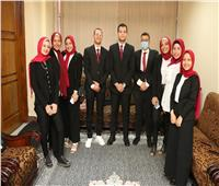 جامعة المنوفية تكرم الطلاب الفائزين بمسابقة إبداع 9| صور