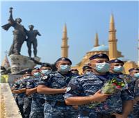 «بـ214 وردة».. قوى الأمن الداخلي اللبناني تحيي ذكرى انفجار مرفأ بيروت
