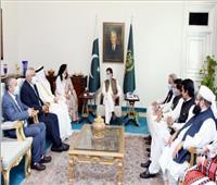 «البرلمان العربي» ورئيس وزراء باكستان يبحثان مواجهة «الإسلاموفوبيا»