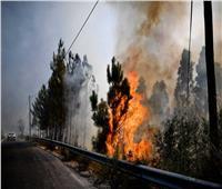 اندلاع حريق قرب جبل بارنس شمال العاصمة اليونانية