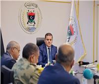 الدبيبة يجتمع مع أعضاء المجلس الأعلى للقضاء العسكري في ليبيا