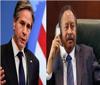 وزير الخارجية الأمريكي يبحث مع رئيس الوزراء السوداني النزاع في إثيوبيا