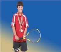 إرادة نجوم| إبراهيم الخولي.. أول معيد من متلازمة داون وبطل مصر في التنس