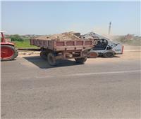 حملات نظافة في قرى ومراكز المحلة