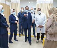 مرور مفاجئ لوكيل وزارة الصحة بالقليوبية على بعض مستشفيات المحافظة