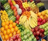 ثبات أسعار الفاكهة في سوق العبور الخميس 5 أغسطس 2021
