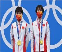 الصين تتوج بذهبية الغطس من منصة ثابتة للسيدات بالأولمبياد