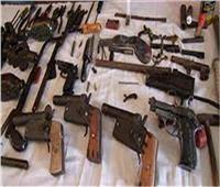 أمن القليوبية يضبط 6 عاطلين بحوزتهم أسلحة نارية ومخدرات