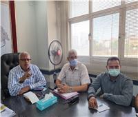 «مياه المنوفية» تعقد اجتماعا لمتابعة المشروعات الجارية بمركز أشمون