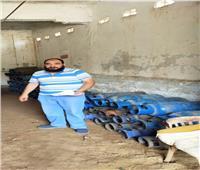 التحفظ على ٢٠ أسطوانة غاز وتحرير ١٣ محضرًا خلال حملات تموينية بالبحيرة