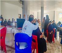قوافل المبادرة الرئاسية «نور حياة» تستقبل 3 آلاف مواطن على مدار يومين.. صور