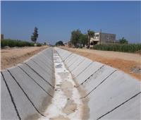 الزراعة: تبطين الترع له مردود إيجابي على الفلاح
