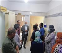 وكيل صحة الغربية يتفقد المركز الطبي بقرية تلبنت قيصر
