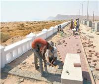 تطوير طريق حمام موسى وتحديث دائرى شرم الشيخ