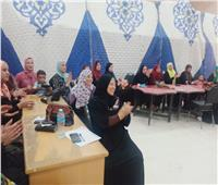 قومي المرأة بأسيوط يواصل تدريب السيدات على المشروعات الصغيرة