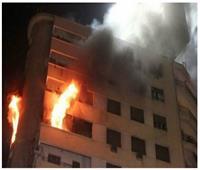 انتداب المعمل الجنائي لمعاينة حريق داخل شقة سكنية بحلوان