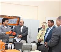 رئيس جامعة الدلتا يستقبل رئيس الهيئة القومية للاستشعار من البعد