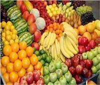 ثبات في أسعار الفاكهة في سوق العبور الجمعة