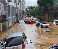 إجلاء الآلاف جرّاء الفيضانات في كوريا الشمالية
