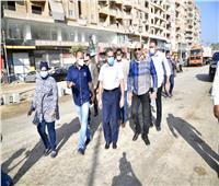 محافظ الغربية في جولة صباحية مكبرة بشوارع المحلة الكبرى وطنطا