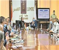 جامع: تعزيز حركة الاستثمار بصعيد مصر على رأس الأولويات