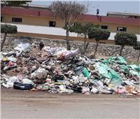 المواطنين بمدينة التجاريين يشتكون من تراكم القمامة