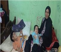 معاناة أسرة من ضمور العضلات.. توفي ابنهم الأكبر.. وقرار الرئيس ينقذ إخوته| صور