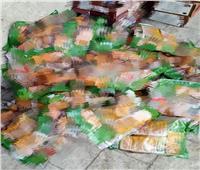 «صحة سوهاج» تضبط كميات كبيرة من المواد الغذائية الفاسدة