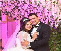 في حفل زفاف بهيج.. عقد قران «محمد بركات» على «شيرين خالد»