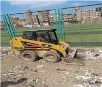 استمرار حملات النظافة بالمدارس والمصالح الحكومية بالمحلة