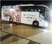 حافلة الزمالك تصل ستاد الإسكندرية استعدادا للقاء «زعيم الثغر»