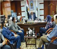 لجنة من المجلس الأعلى للجامعات تتفقد سير إجراء اختبارات القدرات بجامعة الأقصر