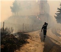 ارتفاع حصلية ضحايا حرائق الغابات في الجزائر إلى 65 ضحية