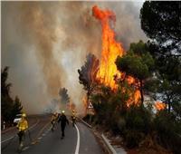 الحرائق تشتعل مجددا في اليونان بالقرب من أولمبيا القديمة