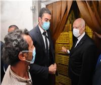 قيس سعيد: سنتصدى لكل من يحاول تجويع الشعب التونسي
