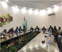 مجلس الشباب المصري بالغربية لتعزيز التعاون بين جامعتي طنطا وإندونيسيا