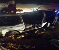 ننشر أسماء ضحايا حادث بني سويف
