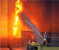 السيطرة على حريق نشب بمصنع أحذية بالقليوبية