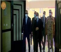 الرئيس السيسي يتفقد وحدات سكن العاملين بالعاصمة الإدارية بمدينة بدر| فيديو