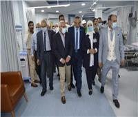 محافظ بورسعيد يفتتح مستشفى المعلمين بحي المناخ