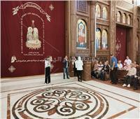 صور| وزيرة الهجرة تتفقد كاتدرائية المسيح بالعاصمة الإدارية
