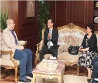 محافظ بني سويف يستقبل رئيس قصور الثقافة لبحث التعاون الثقافي