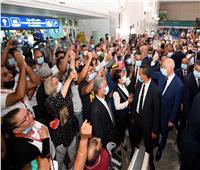قيس سعيد يجري زيارة مفاجئة لمطار قرطاج| صور