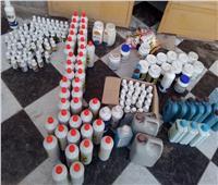 ضبط 3 أطنان مبيدات زراعية و220 عبوة أدوية منتهية الصلاحية في البحيرة  صور