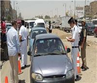 المرور تشن حملاتها بشوارع العاصمة لرصد المخالفين ورفع السيارات المتهالكة