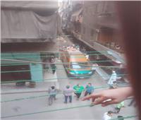 طالبة تلقي بنفسها من الطابق الخامس بالمرج بسبب رسوبها في الثانوية العامة