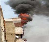 السيطرة على حريق شب داخل شقة سكنية بمنطقة المرج