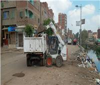 رفع 1800 طن قمامة من مراكز الغربية خلال 24 ساعة