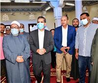محافظ الغربية يفتتح مسجدين بمركز طنطا بتكلفة ٤.٥ مليون جنيه