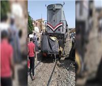 مصرع سائق «توك توك» إثر اصطدام قطار به أثناء عبوره من مزلقان بالقليوبية